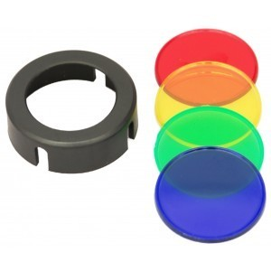 Clulite A67 Red-Amber-Blue-Green Colour Filters For MG125 Gunlight and ML7 Torch