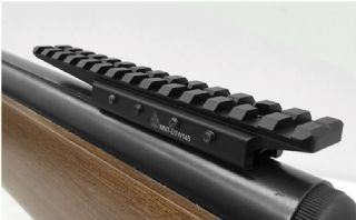 Hawke Adaptor Base 9-11mm Airgun or 3//8 Rifle to Weaver//Picatinny with extension