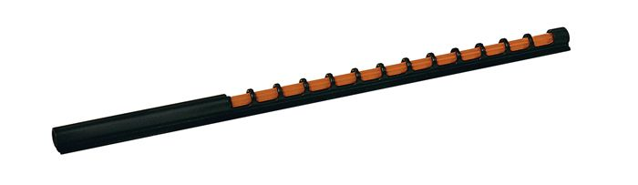 RUBY Sport Shooting Bead Fibre Optic Shotgun Foresight Clay & Game Sight  120mm - Orange