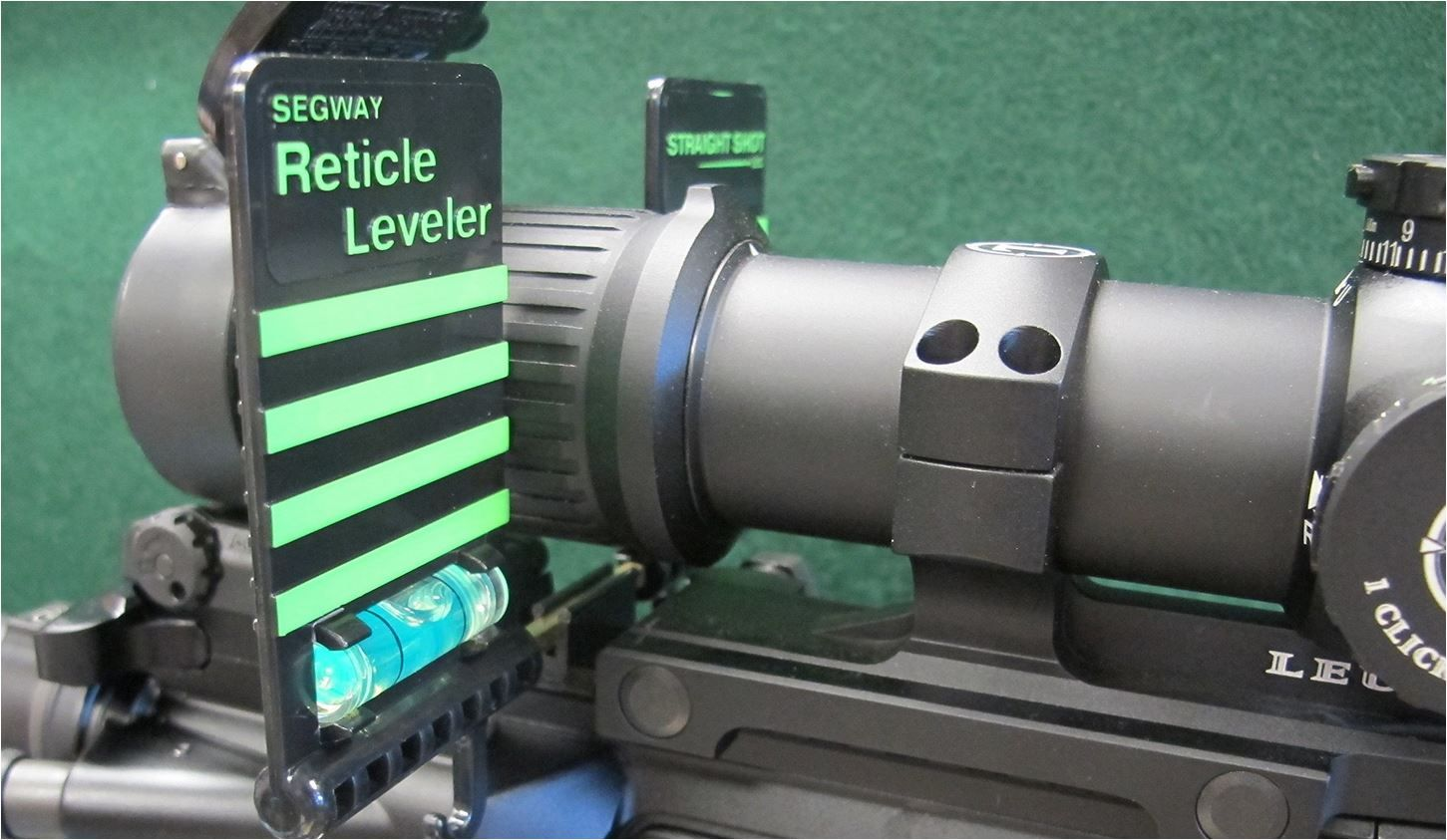 Straight Shot Segway MKIII Rifle Scope Mounting Reticle leveller anti Cant